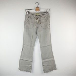 Y2K Gianni Bini Beige Linen Pants